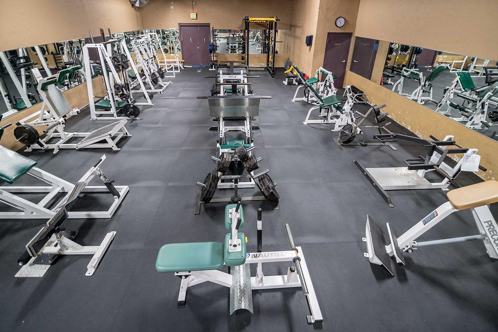 Leg Strength Room